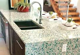 recycled glass countertops cost recycled glass countertops cost great black countertops