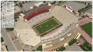 Nebraska Football Field Seating Chart 72 Precise Nebraska Coliseum Seating Chart