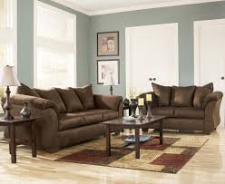 ashley living room furniture. Contemporary Furniture Signature Design By Ashley Darcy  Cafe Contemporary Sectional Sofa With  Sweeping Pillow Arms  Wayside Furniture Sofas Intended Living Room I