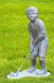 golf sculptures statues and sculptural