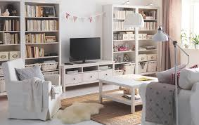 ikea white living room furniture. A Bright Living Room With White Stained Solid Pine TV Bench Drawers And Four Ikea Furniture Z
