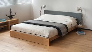 Bedroom Modern Style Beds Simple Platform Bed Frame Low King Size ...