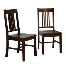 simple wood dining chairs cappuccino set of 2 in dining chairs wooden dining chairs