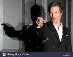 Attore Matthew McConaughey pone a un photocall del film 'L'avvocato  Lincoln' nell'Hotel de Rome di Berlino, Germania, 6 aprile 2011. Il film  arriva tedesco cinema il 23 giugno 2011. Foto: Jens Kalaene