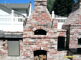 fireplace pizza oven insert decoration outdoor wood fired ovens for and diy