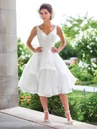 tulle knee length wedding dress 117181 enchanting by mon cheri