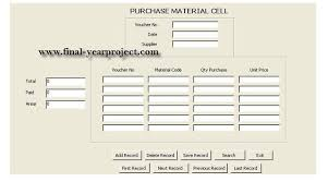 Purchase Order Tracking System Order Tracking System Computer Science Project Free Final