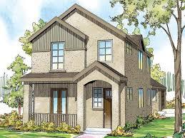 narrow lot house plan 051h 0211
