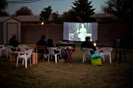 Backyard Movie Screen U2013 DIY Outdoor  Home Design Garden Movie Backyard