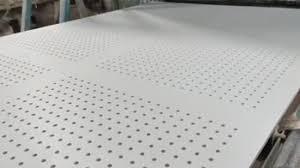 ( q • = 63.750 kcal/h) 5o ) a parede externa de uma casa pode ser aproximada por uma camada de 4 polegadas de tijolo comum (k= 0,7 w/m o c) seguida de uma camada de 1,5 polegadas de gesso (k= 0,48 w/m o c). China 12mm De Espessura Ou Placas De Gesso Perfurada Compre Placa De Gesso Em Pt Made In China Com