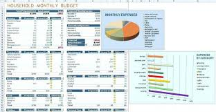 Sample Monthly Household Budget Monthly Household Budget Template Lorgprintmakers Com