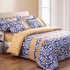 home beautiful blue and yellow comforter sets ordinary best 25 with design 14