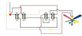 4 wire ceiling fan switch wiring diagram lorestan info Ceiling Fans with Lights Wiring-Diagram 4 wire ceiling fan switch wiring diagram