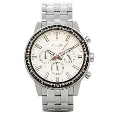 brand shop axes rakuten global market guess watch mens guess guess watch mens guess w0801g1 fuel mens watch watch silver
