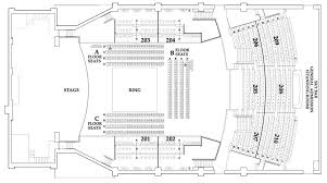 Paramount Seating Chart Star Boxing Star Boxing