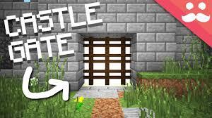 minecraft gate design.  Gate Intended Minecraft Gate Design N