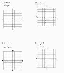 math worksheets linear equations beautiful worksheets 42 inspirational graphing linear equations worksheet high