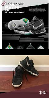 Skip to main search results. Nike Kyrie 3 Irving Basketball Shoes Youth Size 4 Nike Kyrie 3 Shoes Basketball Shoes