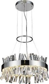 bayman round frame led crystal