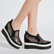 2019 <b>NAYIDUYUN</b> Punk Creepers <b>Women</b> Shoes Genuine Leather ...