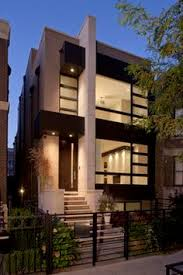 ideas about Townhouse Exterior on Pinterest   Townhouse    Chicago Contemporary Exterior Photos Design  Pictures  Remodel  Decor and Ideas   page
