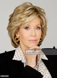 Actress Jane Fonda Is Photographed For Los Angeles Times On November