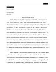 martin luther king jr ra ra martin luther king jrs 4 pages racism essay