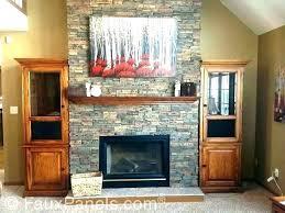 refacing brick fireplace with stone veneer reface stone fireplace brick stone fireplace fireplace refacing a painted refacing brick fireplace