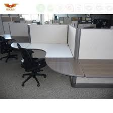 modern office cubicle. Elegant T-Shape Glass Panel Top Modern Office Cubicle Workstation A