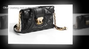 Calvin Klein Lamb Cross Body Bags, Black/Gold, One Size - YouTube & Calvin Klein Lamb Cross Body Bags, Black/Gold, One Size Adamdwight.com