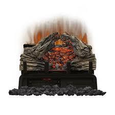 napoleon woodland electric fireplace insert log set 18 inch