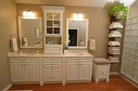 Bathroom   Design Stunning White Bathroom Vanity For Small - Bathroom cabinet remodel