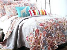 red paisley bedding quilts medallion quilt medallions gray aqua king set fl cotton bedspread