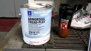 diy concrete garage floor painting before after