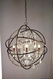 innovative orb chandelier lighting gold orb crystal chandelier in for amazing property crystal orb chandelier designs