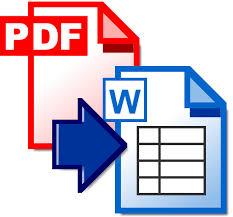 لاستخراج النصوص من هذه الملفات، يجب استخدام التعرّف الضوئي على تحويل ملفات pdf الممسوحة ضوئياً والتي تحتوي على نصوص يمكن تحديدها إلى مستندات word لتتمكّن من التعديل على النصوص. تحميل برنامج تحويل ملف بي دي اف الى وورد مجانا