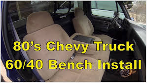 extraordinary bench seat truck chevy gmc truck center console bench