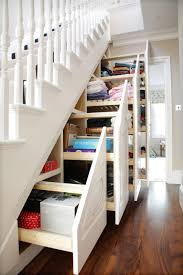 Interior Design:Sweetlooking Under Stairs Shelving Cabinet Best 25 Stair  Storage And With Interior Design