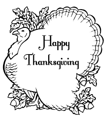 Turkey Coloring Pages Online