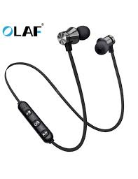 <b>OLAF Earphone Wired in</b> Ear Magnet Exercise Sport Bluetooth ...