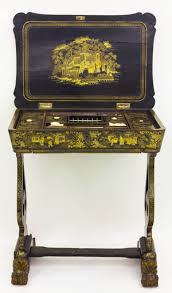 chinese lacquer sewing table chinoiserie 19th century lot 2532 image courtesy kunsthaus