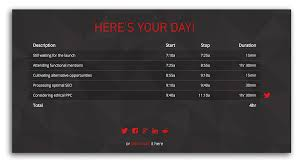 Our Brand New One Click Timesheet Entry Generator Will Make