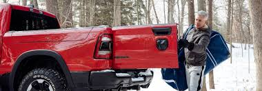 How does the RAM multifunction tailgate work?