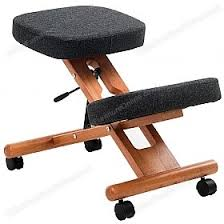 deluxe wooden home office. Posture Deluxe Wooden Kneeler Chair £84 - Office Chairs Home