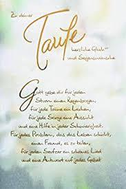 Glückwunsch Zur Taufealles Liebe Zur Taufe Glückwunschkarte Taufe