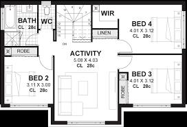 4 Bedroom House Designs Cool Decorating Design