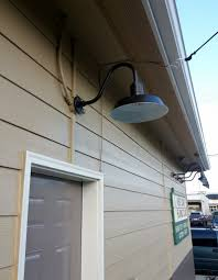 Sign Lights Barn Light Original Gooseneck Provide Safety Style - Exterior sign lighting