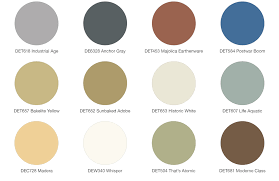Dunn Edwards White Color Chart Exterior Color Palettes To Inspire Design Trends