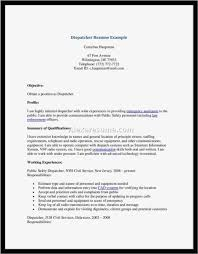 911 Dispatcher Resume New 911 Dispatcher Job Description For Resume