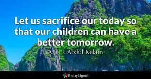 Quotes About Sacrifice Beauteous Sacrifice Quotes BrainyQuote